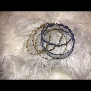 Royal & gold bangles